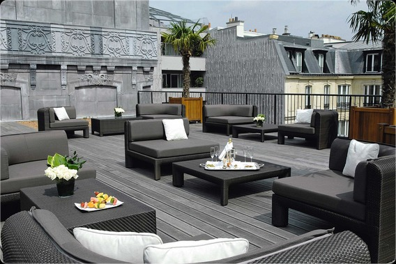 Hotel Fouquet's Barriere Private Terrace - Greening Paris