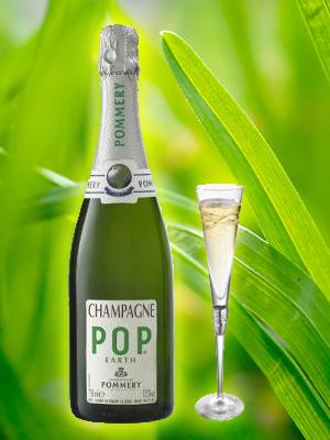 Pommery Pop Earth - Greening Paris