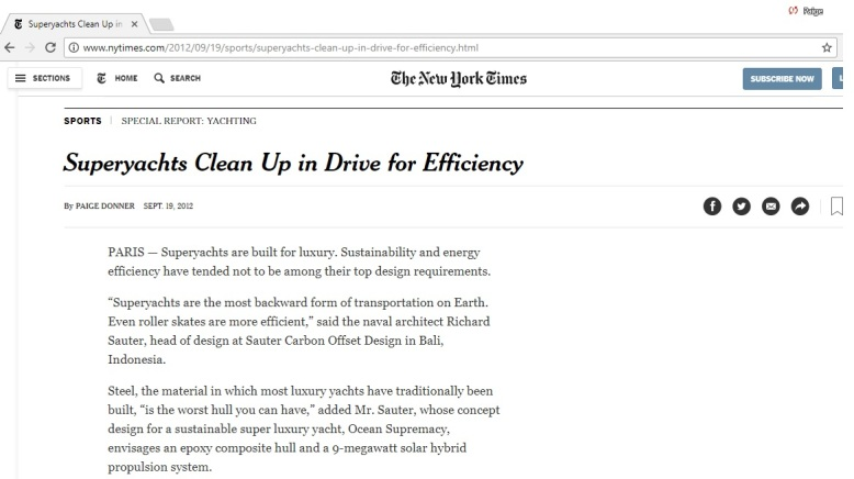 screenshot superyachts ny times by Paige Donner copyright 2012