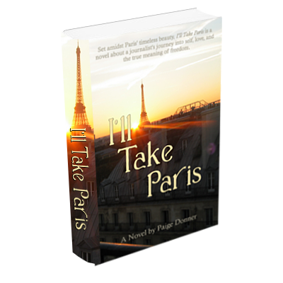 I'll Take Paris - 3d book