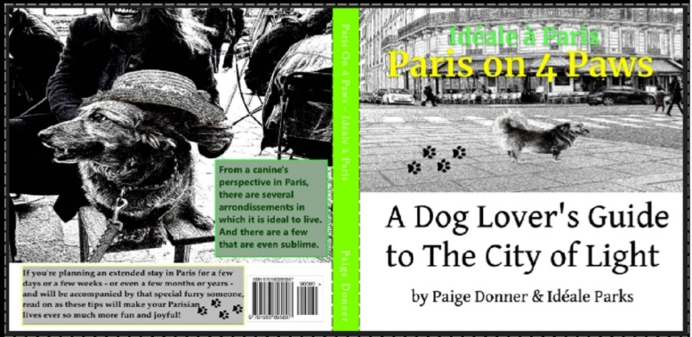 Cover Paris On 4 Paws with ISBN number