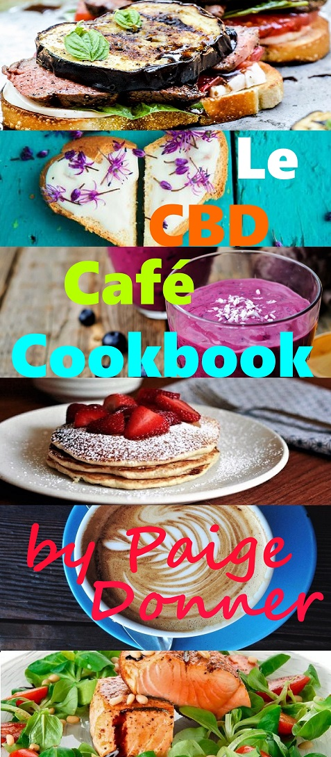 Le CBD Café Cookbook Cover websize by Paige Donner on Amazon.jpg